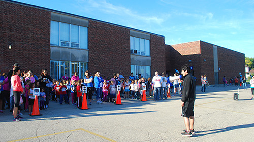 Fun Run at Brookview School (September 27, 2013)
